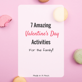 Valentine's Day activities social media graphic