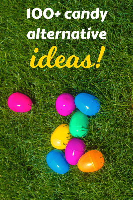 Easter basket ideas to avoid candy