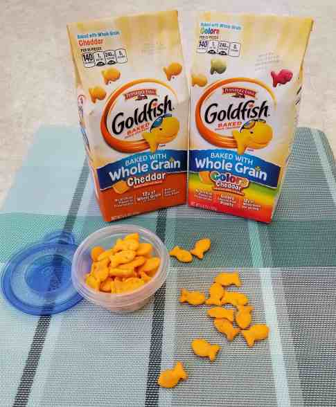 Goldfish snacks help with hectic afternoons