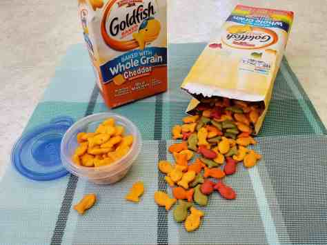 Goldfish snacks for busy afternoons