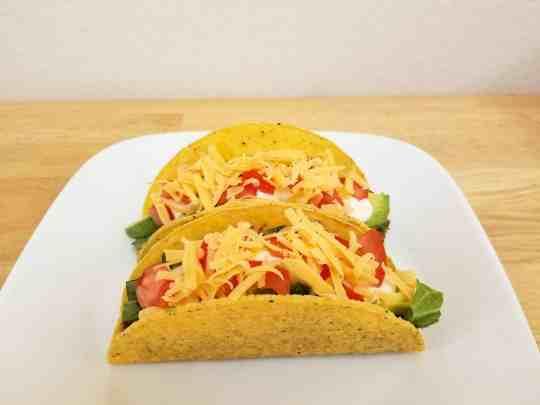 tacos using homemade taco seasoning