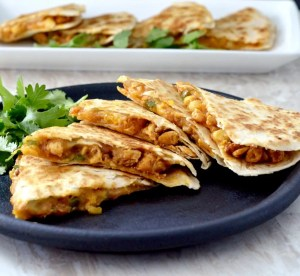 Mandarin Orange chicken quesadillas are just one of the amazing quesadilla recipes we are featuring. Grab these recipes and more at Made in a Pinch and follow us on Pinterest!