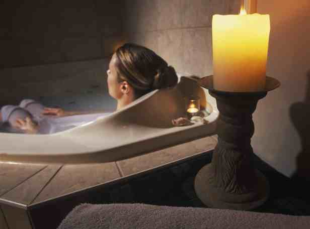 Taking a relaxing bath is a great way to practice self care during the holiday! For more helpful tips and delicious recipes, go to Made in a Pinch and follow us on Pinterest!