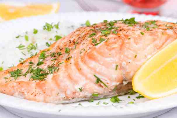 Salmon provides many health benefits and it tastes amazing. FInd out more and grab our delicious and easy salmon recipes at Made in a Pinch