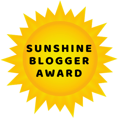 I have been nominated for the Sunshine Blogger Award. Learn what it is and who I have nominated to receive this distinction!