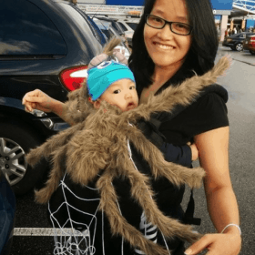 Quick and Easy Mommy and Me Halloween Costume Ideas for babies