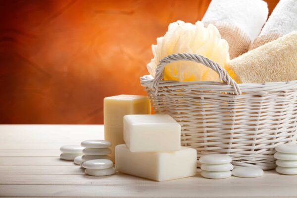 Stocking up on extra toiletries is one of 9 hacks for how to prepare your home for holiday guests