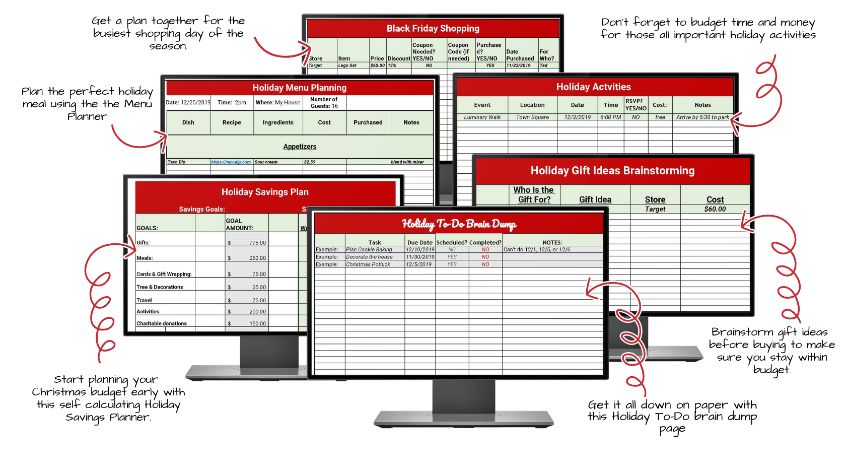 Holiday Budget By Design