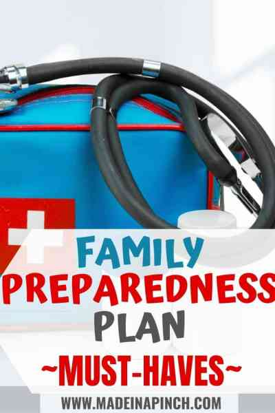 Family preparedness plan pin image 2