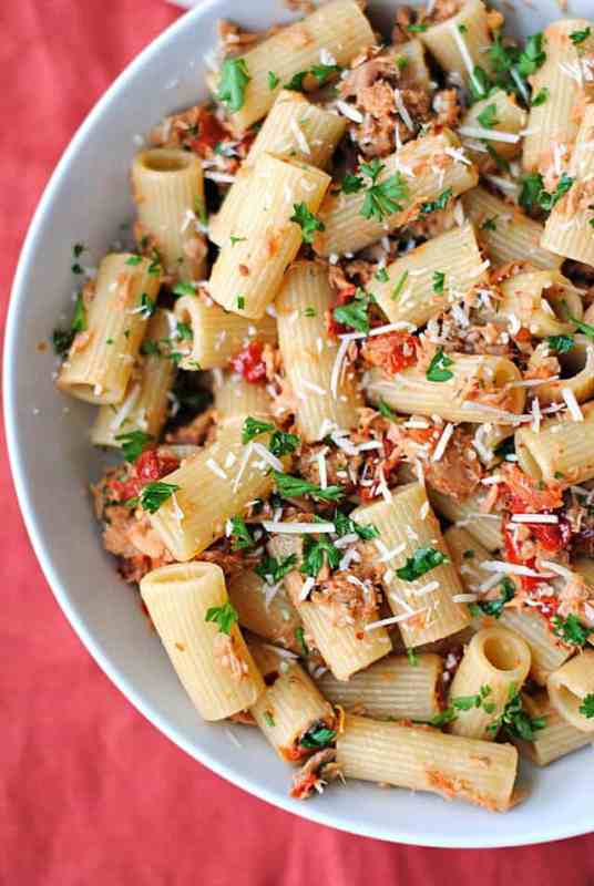 this tuna rigatoni is a delicious example of our list kitchen staples recipes