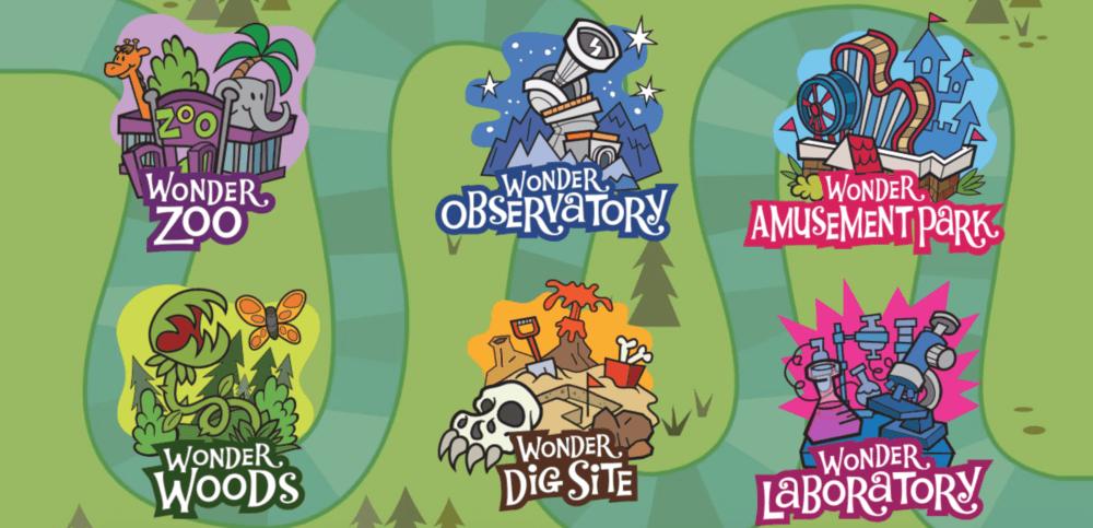 Camp Wonderopolis homepage