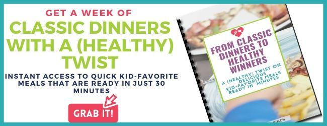 Get a week of recipes for classic dinners with a healthy twist kids will love.