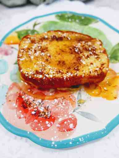Close up of french toast