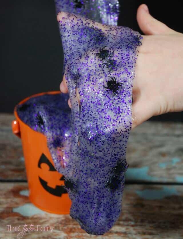 Halloween spider slime