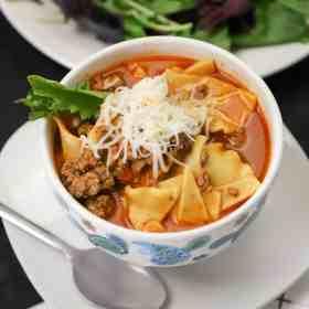 Lasagna soup instant pot