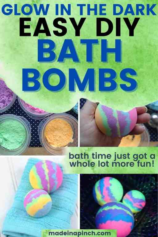 bath bomb recipe pin image