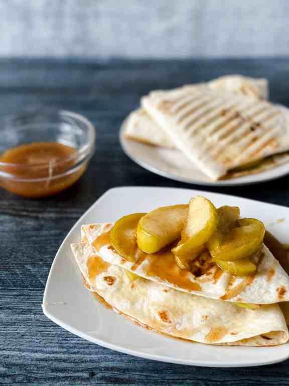 caramel apple wrap (TikTok Viral Tortilla Wrap hack)