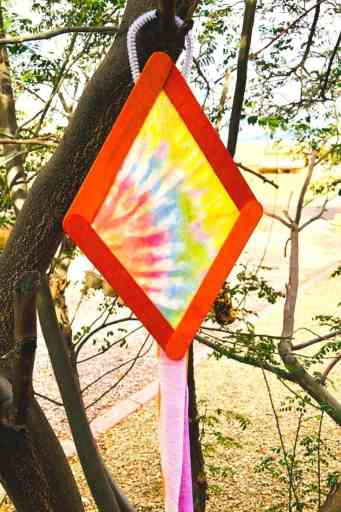 colorful kite popsicle stick crafts for kids final