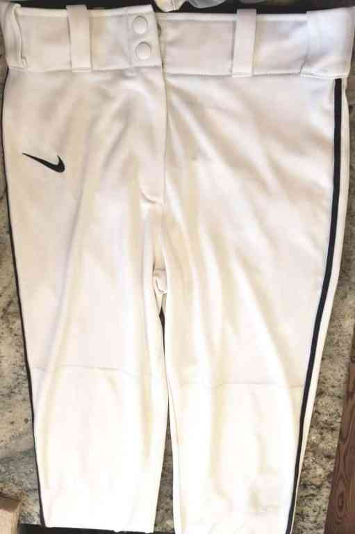 Baseball mom trick: a clean pair of white baseball pants (without taking all day to scrub)