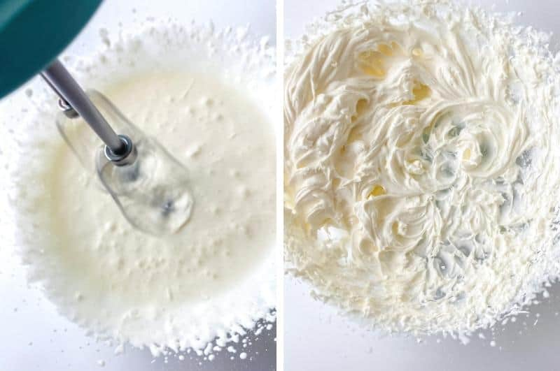 making Chantilly cream collage1