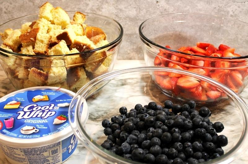 red white and blue trifle ingredients