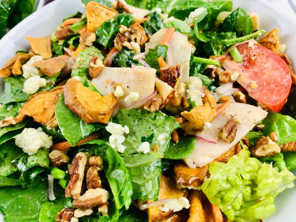 Copycat Panera Fuji Apple Salad closeup