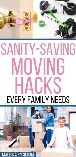genius sanity-saving moving hacks and tips