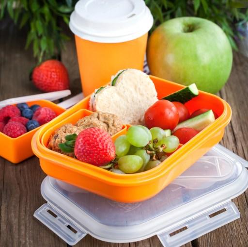 school lunch hacks include using a Bento Box