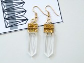 Laura Aldous - Gold Perspective Earrings