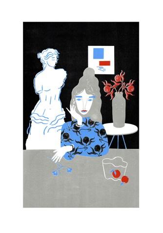 Agnese Taurina - The Thinker