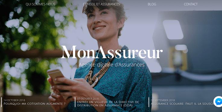 Visuel site monassureur