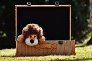 Préparer la valise de son enfant sans oublier son doudou préféré !