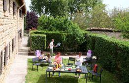 Gîte Bonne etoile jardin
