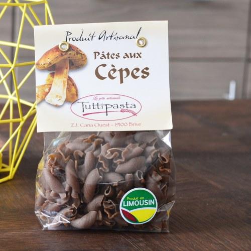 pâtes aux cèpes Tutti pasta