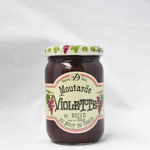 Moutarde violette de Brive Maison Denoix