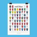 Affiche vestiaire du foot français 1