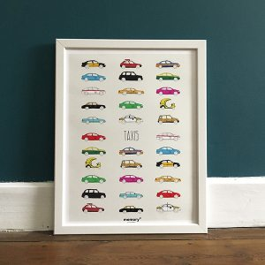 affiche memory taxis