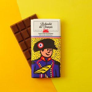 Lait et éclat de noisettes chocolat des français