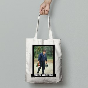 tote bag french wolverine
