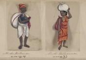 Hindoo washerman / Hindoo washerwoman