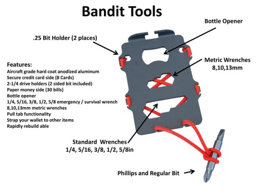 Bandit Wallet Instructions