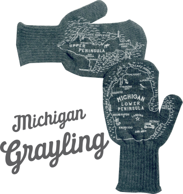 grayling michigan mittens