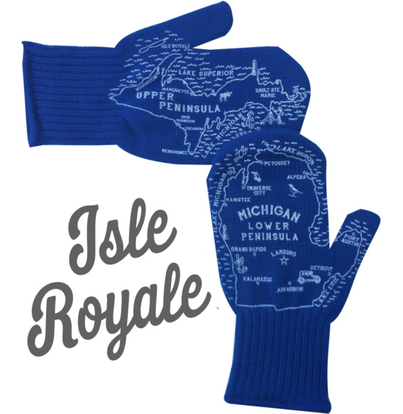 isle royale michigan mittens