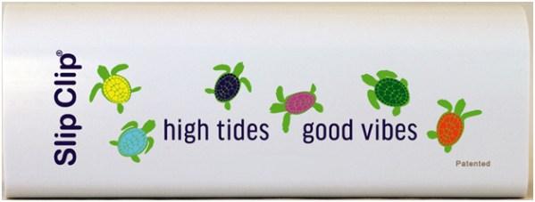 Slip Clips high tides good vibes White