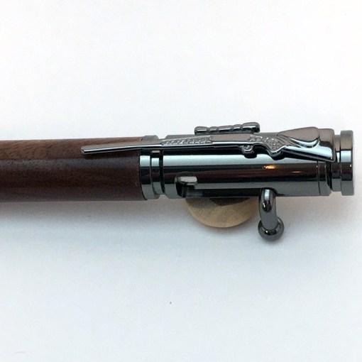 Black Walnut .30 Caliber Bullet Pen