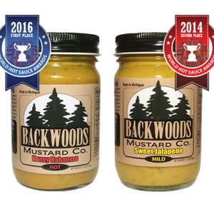 Honey Habanero and Sweet Jalapeno Mustard 2 Pack