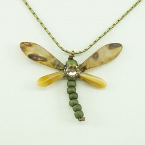 Brownstone Baby Dragonfly Necklace