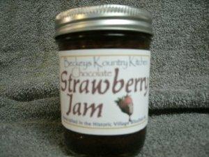 Chocolate Strawberry Jam