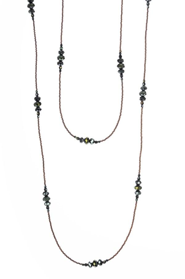 Elegant Iris Necklace