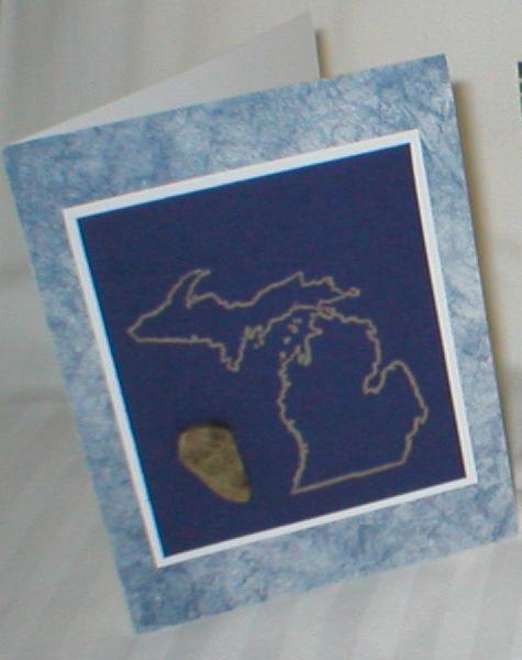 Petoskey stone michigan greeting cards set of 6 petoskey stone michigan greeting m4hsunfo
